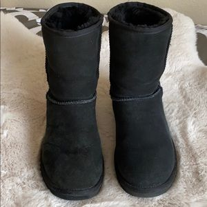 Original Black UGG Boots Size 8 Excellent Cond